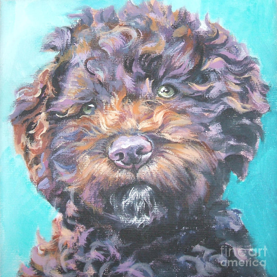 Draw Lagotto Romagnolo wallpaper