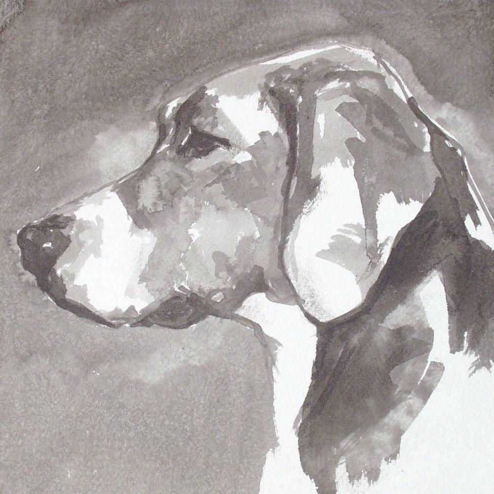 Drawn Hamiltonstovare dog wallpaper