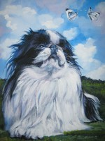 Drawn Japanese Chin
